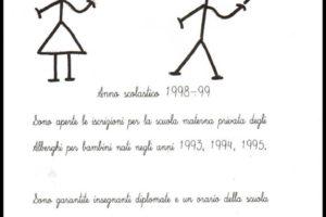 20 anni scuola materna asilo nido Alberghi parrocchia s.maria assunta castellare pescia