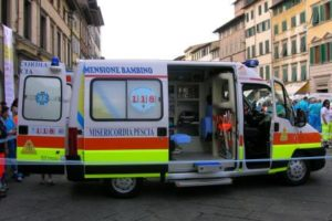 ambulanza misericordia pescia il tuo paese
