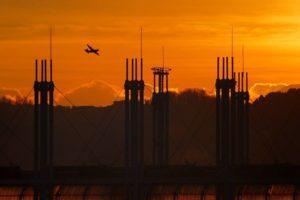 nuovo mercato fiori tramonto aereo pescia il tuo paese