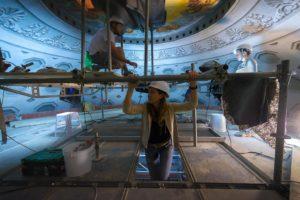cupola Duomo durante ristrutturazione 2018 pescia - Il Tuo Paese