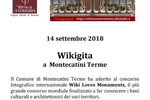 Wikigita montecatini 14 sett 18 wiki loves monuments pescia