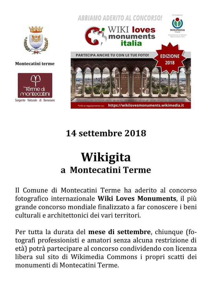 gita wikigita montecatini wiki loves monuments pescia