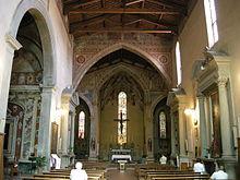 san francesco chiesa interno pescia