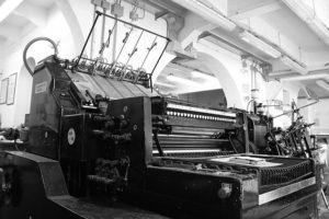 Stamperia Benedetti, tipografia storica toscana, Pescia