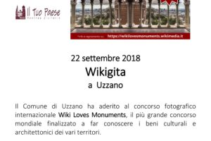 Wikigita Uzzano locandina 22 settembre - Pescia