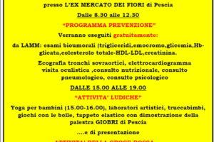 comitato crocerossa programma prevenzione 16 settembre 2018 Pescia