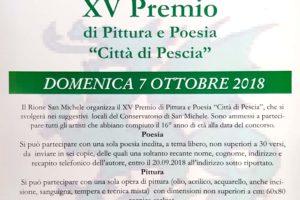 XV premio pittura poesia rione san michele pescia