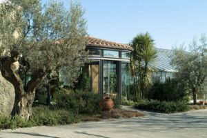 esterno Oscar Tintori agrumi, Hesperidarium, giardino degli agrumi, Pescia