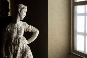 fuori podio, 4° - Gipsoteca Andreotti statua, AndreCollodi Pescia