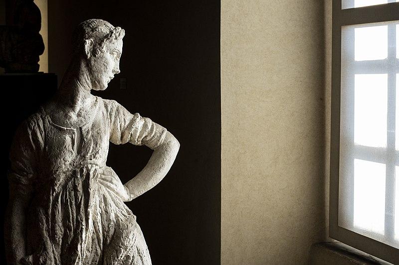 fuori podio, 4° - Gipsoteca Andreotti statua, AndreCollodi wiki loves monuments 2018 Pescia