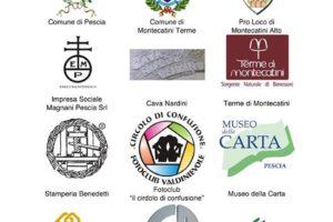 sponsor loghi volantino premiazione regionale wlm2018 pistoia, pescia