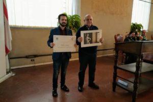 premiazione di Amato (padre) statua della Gipsoteca Andreotti Pescia, wlm 2018 regione toscana, pescia