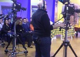 cameramen istituto tecnico agrario anzilotti televisione TVL pescia