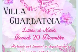 villa Guardatoia letture natale Pescia