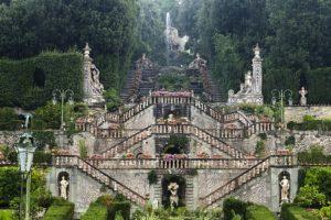 scalinata del giardino villa garzoni collodi mirko luigi fioreschi pescia