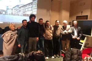 Foto autorità conferenza stampa wlm2018 Pescia