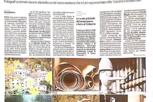 il Tirreno conferenza stampa wiki loves monuments 2018 pescia