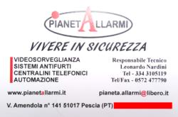 pianetAllarmi videosorveglianza sistemi antifurto automazione pescia