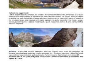cai escursione Dolomiti agosto 2019 pescia