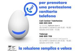 tele CUP_prenotazione prestazioni sanitarie call center Pescia