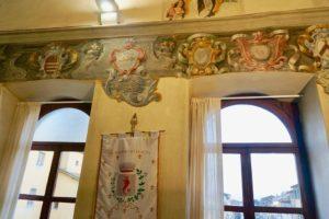 affreschi palazzo vicario pescia