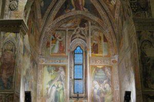 abside affreschi sant'antonio abate pescia
