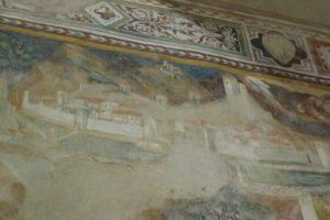 affreschi Bicci sant'antonio abate pescia