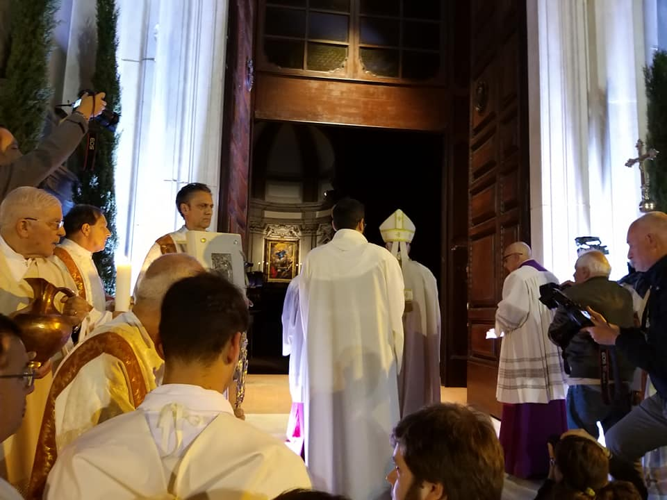 apertura porta santa cattedrale pescia