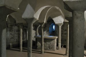 cripta pieve castlevecchio valleriana pescia