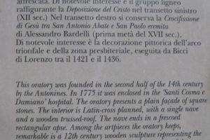 descrizione sant'antonio abate pescia