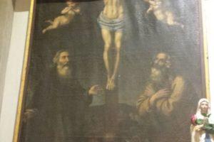 dipinto sant'antonio abate pescia