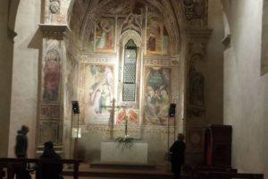 interno abside sant'antonio abate pescia