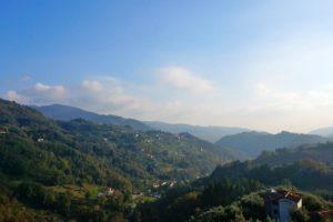 panorama da castelvecchio valleriana pescia