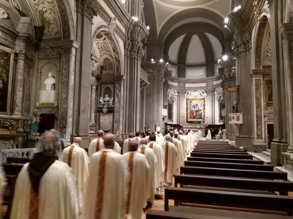 processione introitale inaugurazione giubileo diocesi pescia