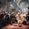 vescovo benedicente uscita cattedrale pescia