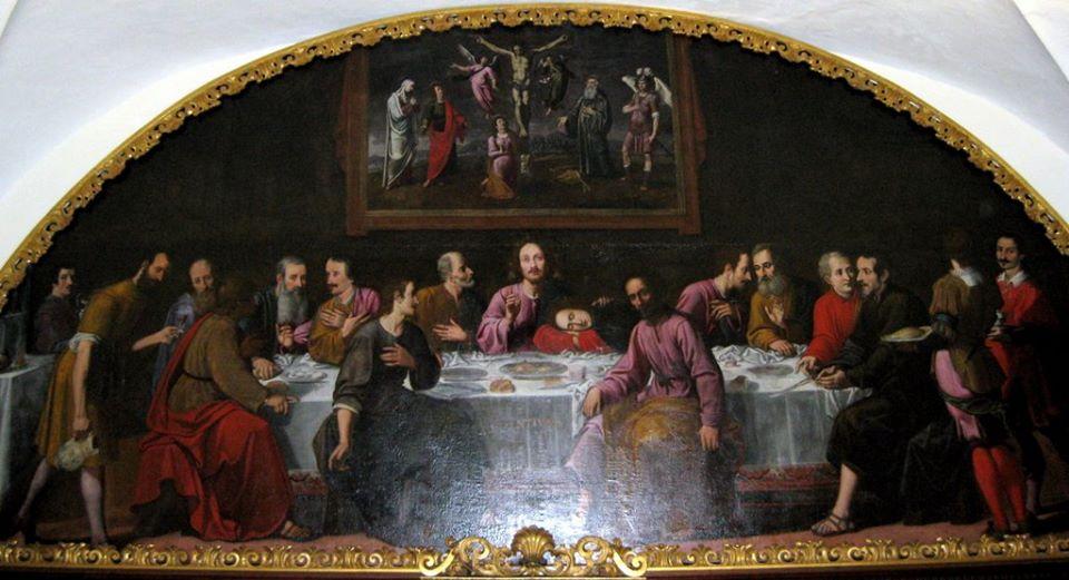 cenacoli dipinti san michele sansoni pescia