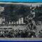 inaugurazione 1956 monumento a pinocchio di emilio greco con prediente repubblica giovanni gronchi parco di pinocchio paolo landi collodi pescia