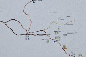 La via Francigena a Galleno_ da Fucecchio verso Lucca pescia