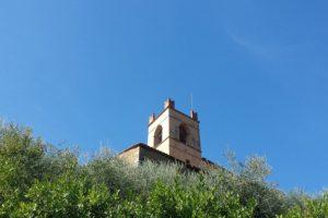 campanile chiesa santa margherita monte a pescia