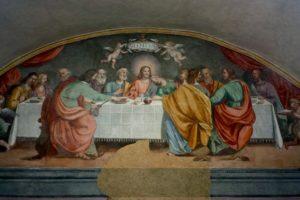 cenacolo san francesco cenacoli dipinti pescia