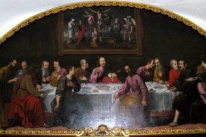 ex monastero benedettino san michele sansoni 1625 cenacolo pescia