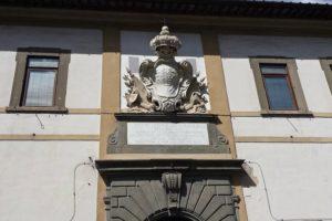 stemma Leopoldo Ospedale ss. cosma damiano Pescia