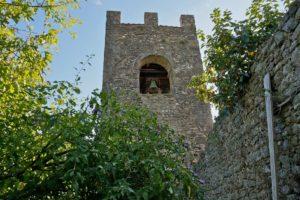 torre campanile mura collodi pescia