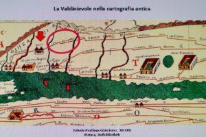 valdinievole cartografia antica via francigena pescia