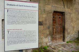 esterno chiesa sant'antonio abate pescia