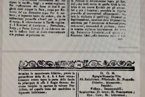 gazzetta toscana 1776 ospedale ss cosma e damiano pescia