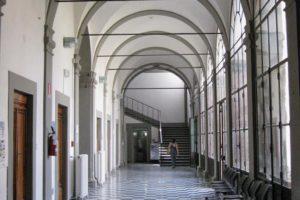 sala pavimento scacchi vecchio ospedale pescia