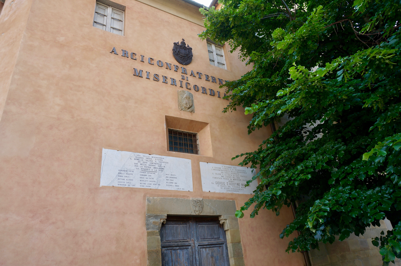 sede storica arciconfraternita misericordia pescia