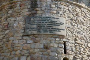 targa torre piazza xx settembre mura di pescia