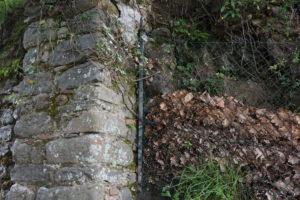 troncone mura parte nord città di pescia